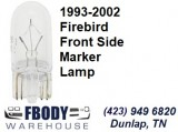 1993 - 2002 Firebird Front Side Marker Lamp Bulb