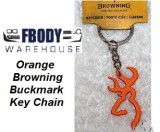 Orange Browning Buckmark Key Chain