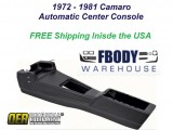 1973 - 1981 Camaro Center Console NEW Automatic