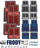 1967 - 2002 Camaro Floor Mats 3 Colors to Choose from!
