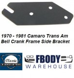 1970 - 1981 Camaro Trans Am Clutch Frame Side Bellcrank Bracket NEW