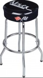 Chevrolet Nova Bar Stool 30 Inch Tall Black With Nova Script Logo