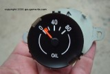 1970 - 1981 Camaro Oil Pressure Gauge STOCK APPEARANCE Cluster Mounted!