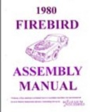 1980 Pontiac Trans Am Firebird Assembly Manual