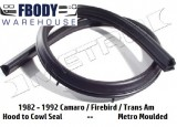 1982 - 1992 Camaro Trans Am Hood to Cowl Weather Seal Metro Moulded