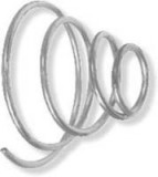 1967 - 1981 Camaro Trans Am Window Crank Tension Springs PAIR