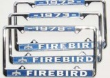 Custom Firebird License Plate Frame Various Years Available New!