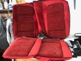 1979 - 1981 Trans Am Hobnail Seat Covers REAR SEAT ONLY RED