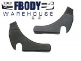 1970 - 1981 Camaro Trans Am Seat Hinge Covers NEW PAIR