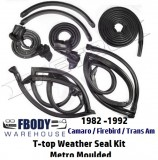 1982 - 1992 Weather Seal Kit T Top Camaro Trans Am