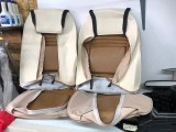1979 - 1981 Trans Am Deluxe Vinyl Seat Covers FRONTS ONLY CAMEL TAN