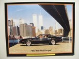 Trans Am Poster World Trade Center & Bandit Trans Am 11 x 17