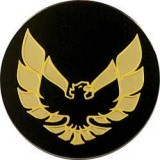 1977 - 1992 Trans Am Replacement Gold Bird Logos for Center Caps