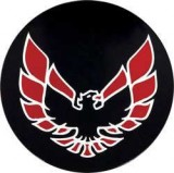 1977 - 1992 Trans Am Replacement Red Bird Logos for Center Caps.