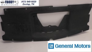 1989 - 1992 Camaro Center Upper radiator Support Close Out Panel GM 14019578