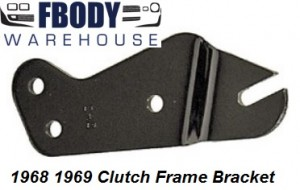 1968 - 1969 Camaro Firebird Clutch Frame Side Bell Crank Bracket NEW