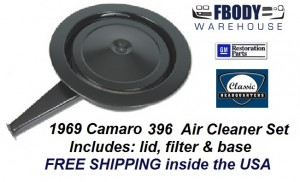 1969 Camaro Air Cleaner Assembly Cowl Induction 396 Models