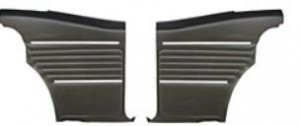 1969 Camaro Standard Rear Interior Trim Panels 6 Available Colors PLATINUM EDITION Assembled