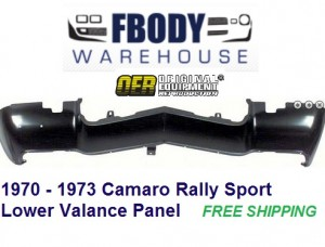1970 - 1973 Camaro Rally Sport Lower Valance Panel (Lower Nose Cone)