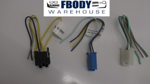 1978 - 1981 Camaro Trans Am Radio Wiring Harness Plugs NEW Replacement