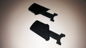 1978 - 1981 Seat Belt Sill Plate Side Anchor Covers PAIR NEW