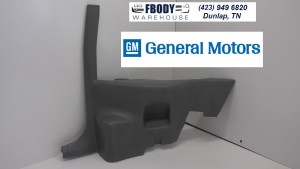 1982 - 1992 Camaro Trans Am Lower Rear Armrest Panel Passenger Side GM