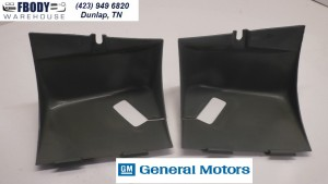1988 - 1992- Camaro Firebird Trans Am Rear Seat belt Trim Covers PAIR GM 10082803 - 02
