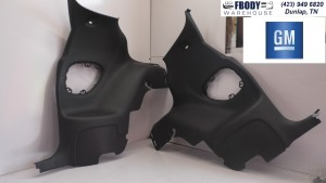 1998 - 2002 Camaro Trans Am Rear Armrest Trim Covers GM