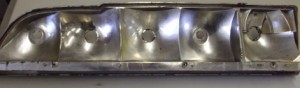 1979 1980 1981 Trans Am Tail Light Housing Driver Side  GM Unit