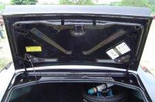 New trunk lid jack instruction sticker Firebird Trans Am 74-78