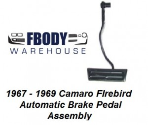 1967 - 1969 Camaro Firebird Automatic Brake Pedal
