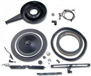 1969 Camaro COMPLETE COWL INDUCTION SYSTEM for 302 Models