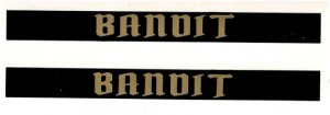 1976 - 1981 Trans Am Bandit Door Handle Decals