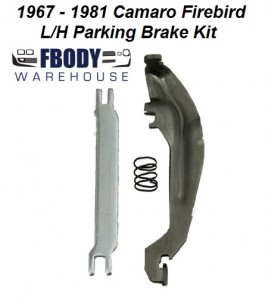 1967 - 1981 Camaro Firebird Parking Brake Kit Left Hand Side