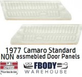 1977 Camaro NON Assembled STANDARD Door Panels NEW 4  Colors Available
