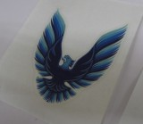 1978 - 1981 Trans Am NEW Replacement Correct Exterior Sail Panel Bird 3 inch DECAL""