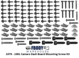 1970 - 1981 Camaro Dash Mounting Screw Set NEW 105 Piece