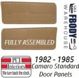 1982 - 1985 Camaro Standard Door Panels FULLY Assembled