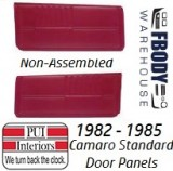 1982 - 1985 Camaro Standard Door Panels NON Assembled