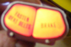 1970 - 1981 Firebird warning lights for speedometer  2 or 3 light lens available